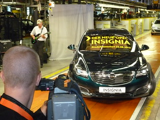 Produktionsstart neuer Opel Insignia