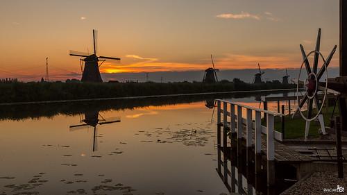 Monday morning Sunrise, Kinderdijk