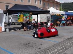 Course folle de voitures à pédales - Champagnole