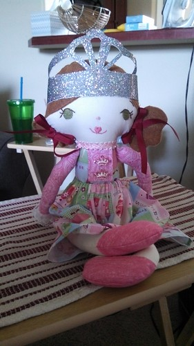 My Mother in law made this doll for my niece