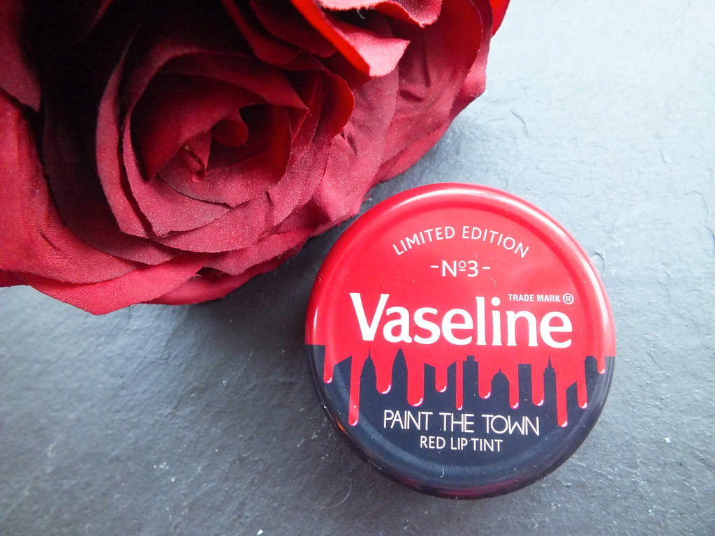 Limited Edition Vaseline Paint The Town Lip Therapy in Spiced Berry