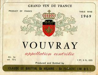 France - Vouvray 1969