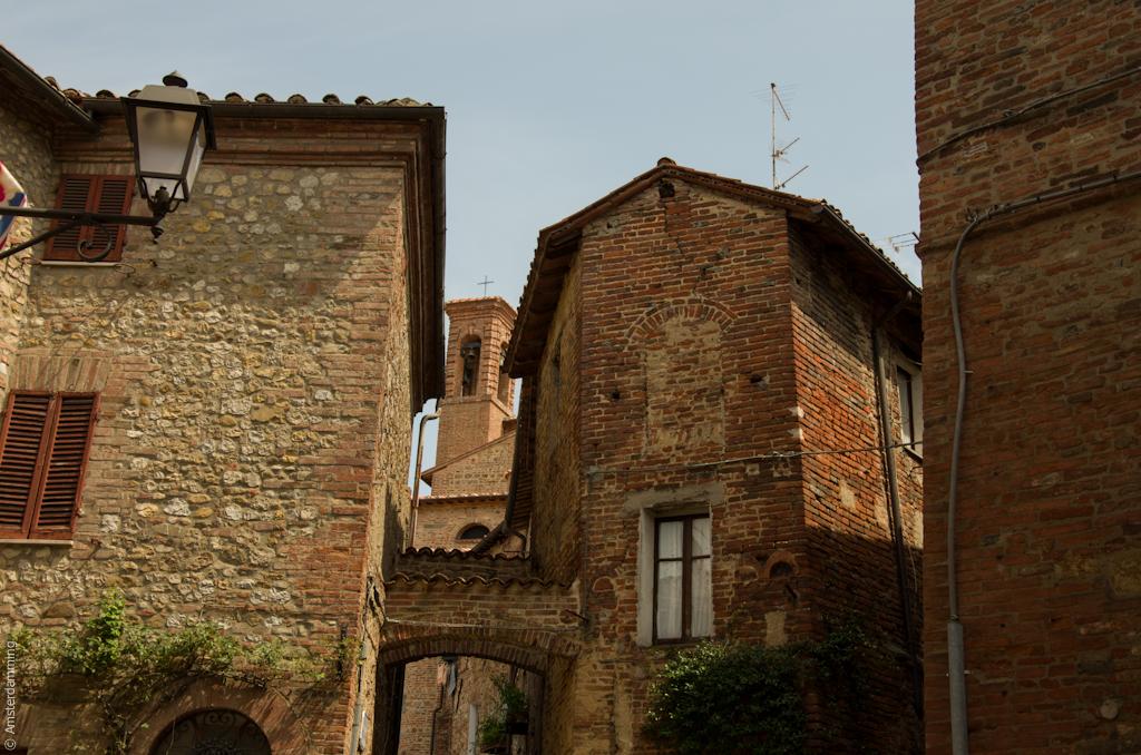 Italy, Stone Houses in Città della Pieve