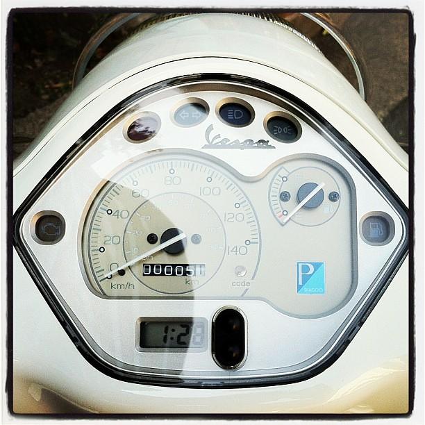 #Piaggio #Vespa LX125 3V納車時走行距離は5.1km