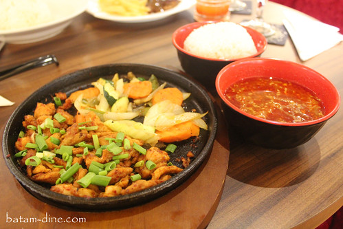Full Menu Set of Chicken Bulgogi