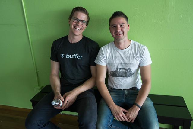 Leo Widrich & Joel Gascoigne, Co-Founders of Buffer