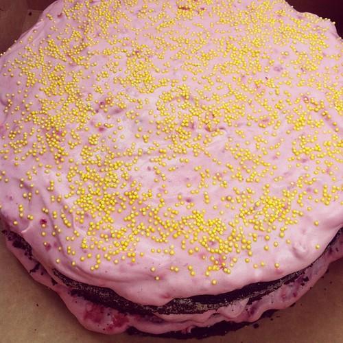 """""""Gå ett ärende"""" visade sig vara en helt fantastisk tårta från Snåttren!"""