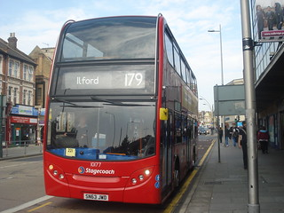 Stagecoach 10177 on Route 179, IIford