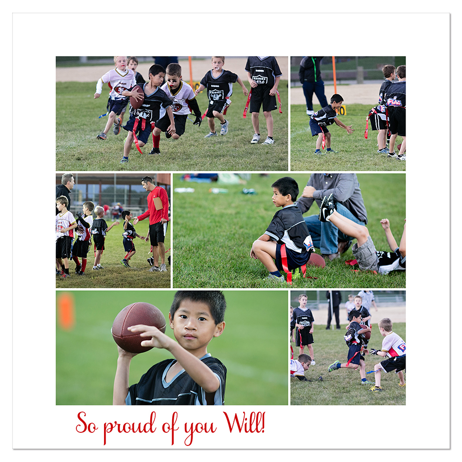 Football Will Collage