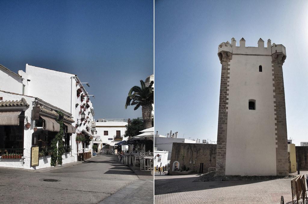 torre guzmán el bueno_conil_restauración_patio de armas_castillo