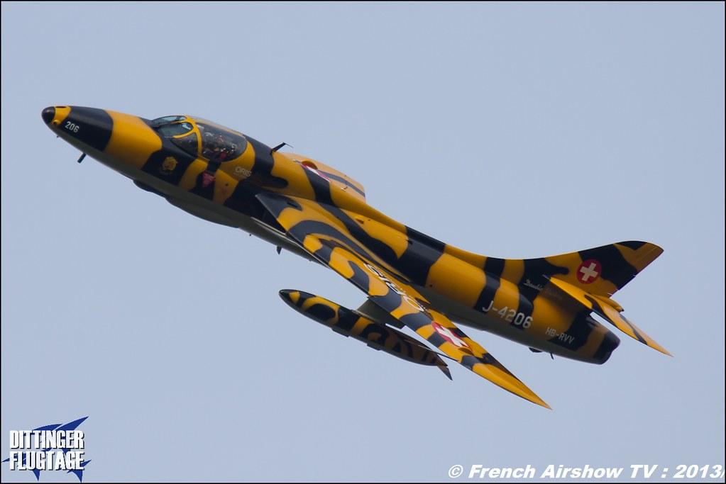 Oris.ch Hunter Tiger HB-RVV / J-4206 Dittinger Flugtage 2013