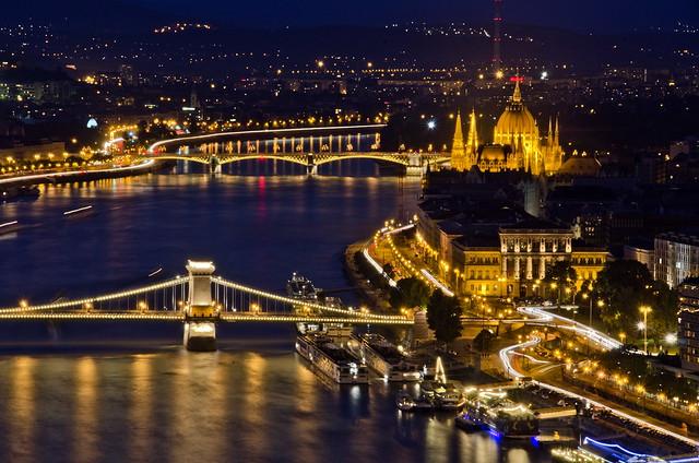 On blue Danube