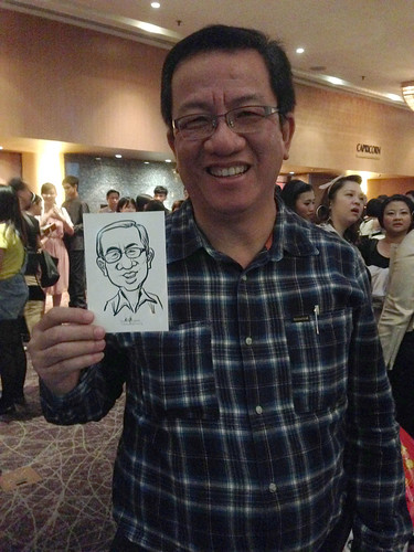 Digital live caricature for NTUC D&D 2013 - 5a