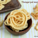 Thengai-pal-murukku
