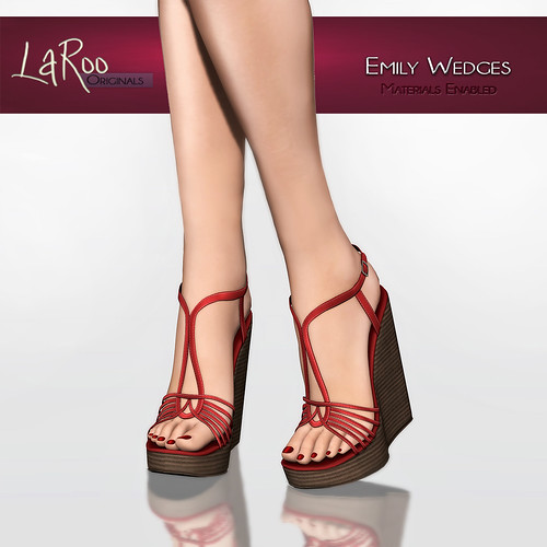 (LaRoo) Emily Wedges