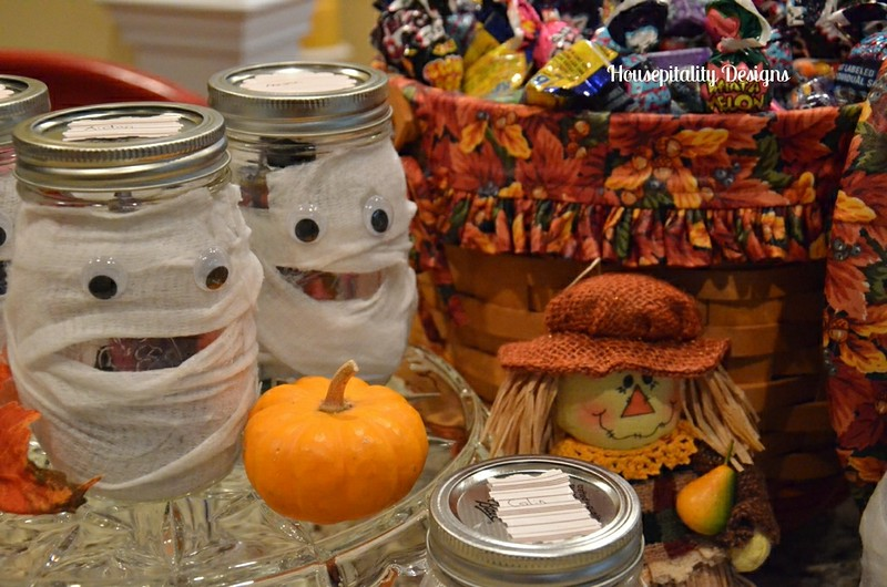 Mummy candy jars