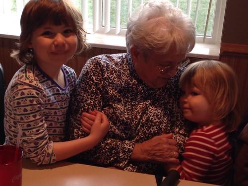 Great Grandma and the girls