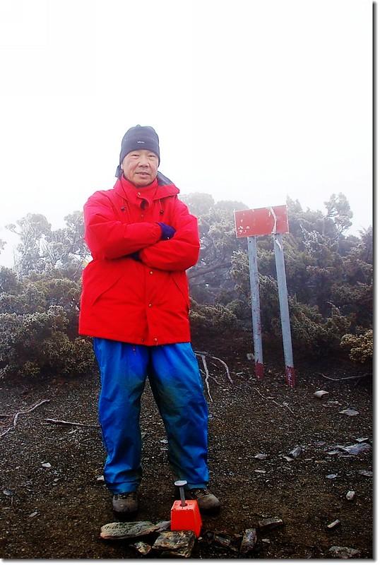 大水窟山(Elev. 3642 m)