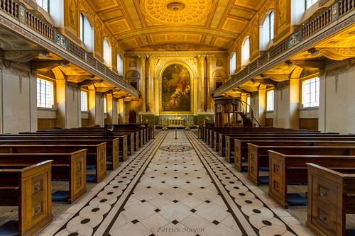 the decorated chapel of Greenwich.
