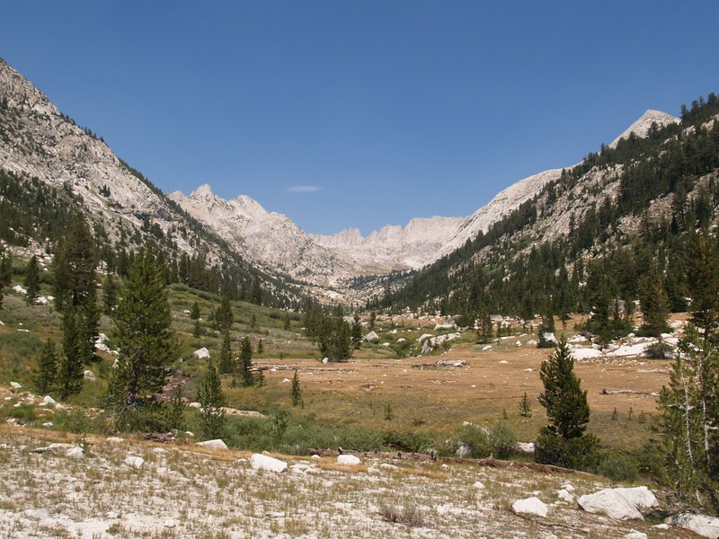 Matterhorn Canyon - Finger Peaks (Left), Sawtooth Ridge (Center), and Whorl Mountain (Right)