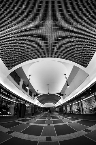 Prague passage CNB by Zdenek Papes