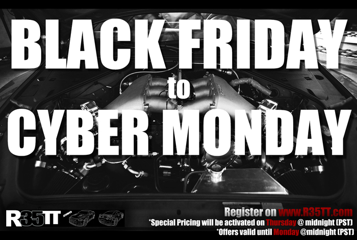 We're Having a Black Friday/Cyber Monday Sale!!!