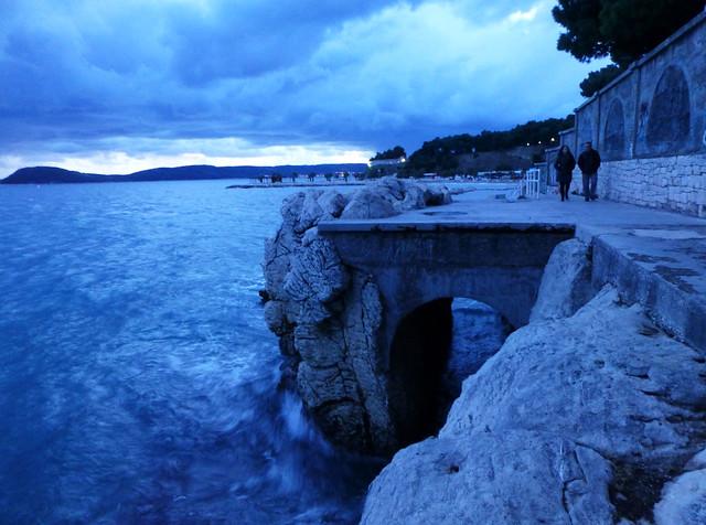 blue twilight split croatia