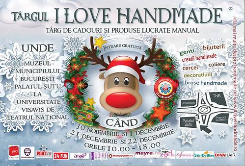 "Invitatie la targ ""I Love Handmade"""
