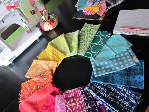 fabric color wheel