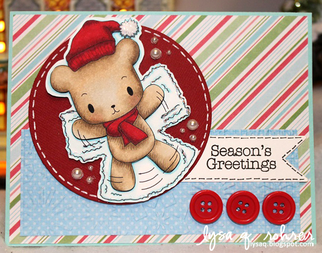 Joyful Season Angel Bear