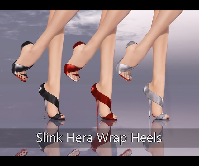 Slink Hera Wrap Heels for SHOETOPIA 2013