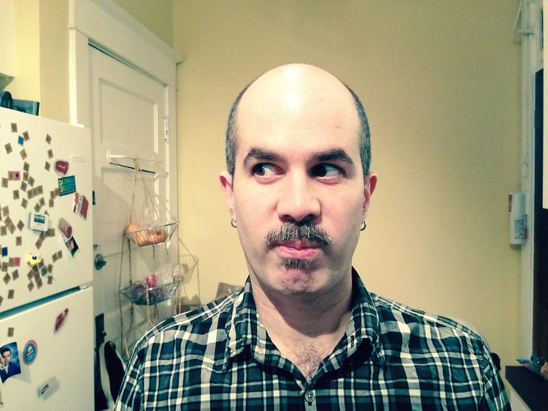 Aidan's last Movember hurrah