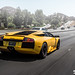 Pearl yellow Lamborghini Murcielago in Los Angeles by I am Ted7