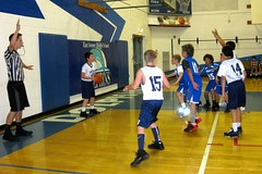 Jacob takes the ball out