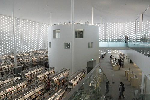 25 of The World's Coolest Libraries: Kanazawa Umimirai Library