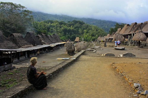 Bena, a traditional Ngada village