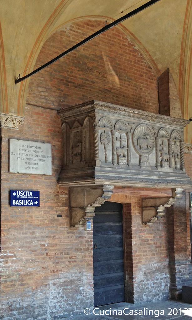 Padua Basilica di Sant'Antonia Balkon