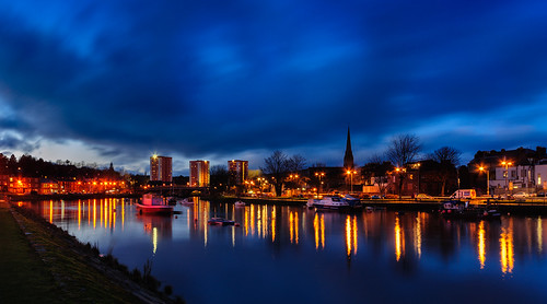Dumbarton Gloaming by brownrobert73