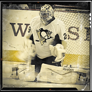 Pittsburgh Penguins Goalie Marc-Andre Fleury - 2869