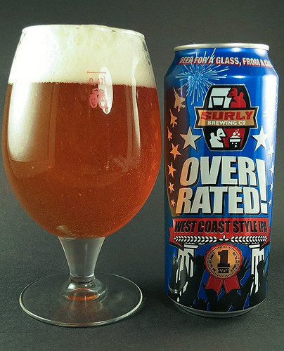 Surly Overrated west coast style IPA
