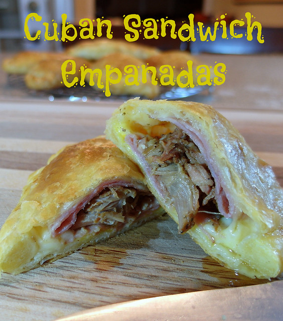 Cuban Sandwich Empanadas