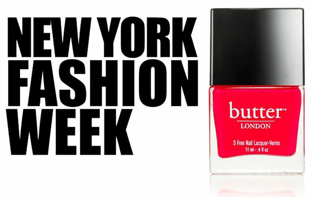 Butter London Fashion Week Hue: Ladybird