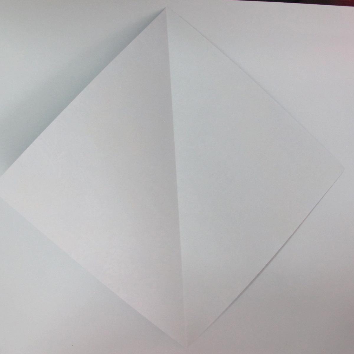 วิธีการพับกระดาษเป็นรูปม้า (Origami Horse) 002