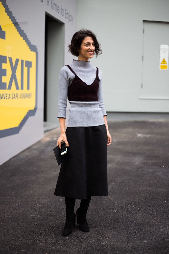 Street Style - Yasmin Sewell, London Fashion Week