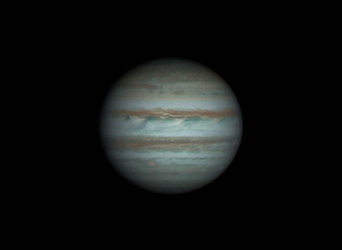 Jupiter RRGB - 250214 - 21:20UTC by Mick Hyde