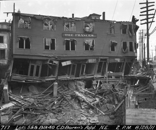 Frances Hotel being demolished, 1911