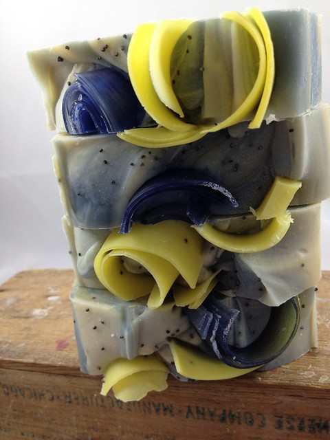 Blueberry Lemon Verbena Soap by The Daily Scrub