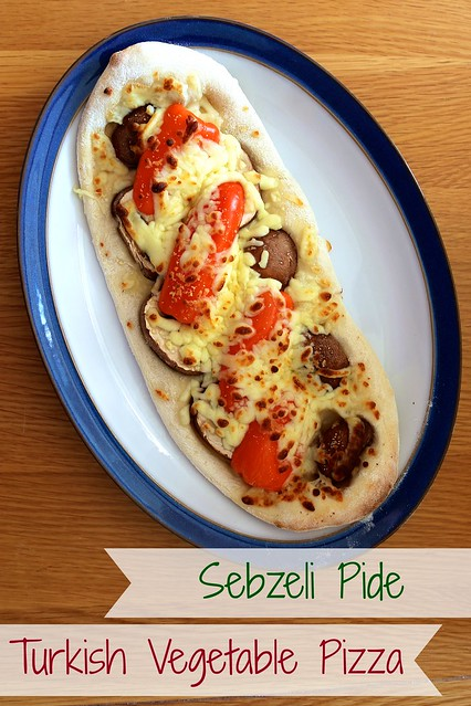 vegetable pide
