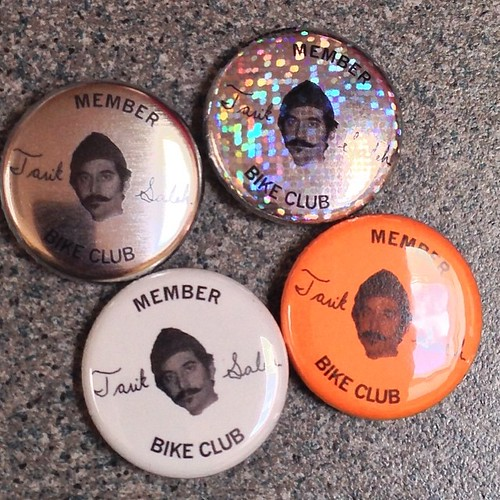 New tsbc pin stock! These 4 go out with all TSBC hat orders! http://www.tariksaleh.com/tsbc/ #tariksalehbikeclub #tsbc