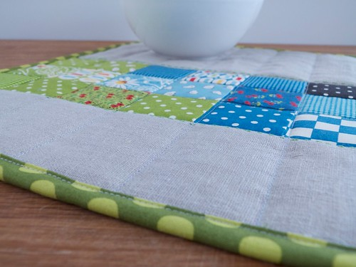 Placemat -  Green and Bue